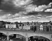 View OF 7 Train From Rooftop Queens New York