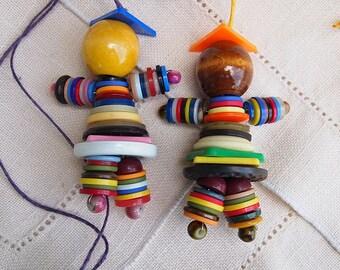 Decorative Button People