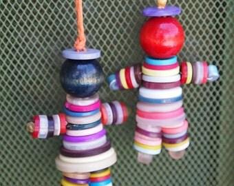 Decorative Button Children