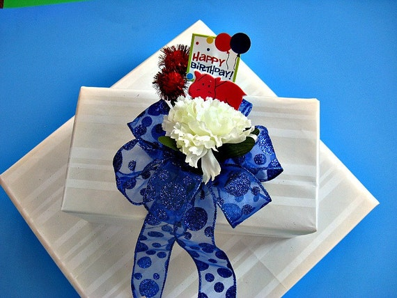 Little boy's Birthday bow, Happy birthday gift bow, Birthday celebration bow, Baby boy birthday, Animal birthday bow (HB 22)