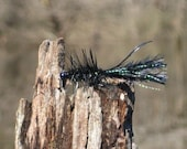 Beaded Woolly Bugger with Flash