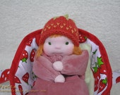 Waldorf Play Set: Bunting Doll and a Carry Cot/Bed Set (02'2012)