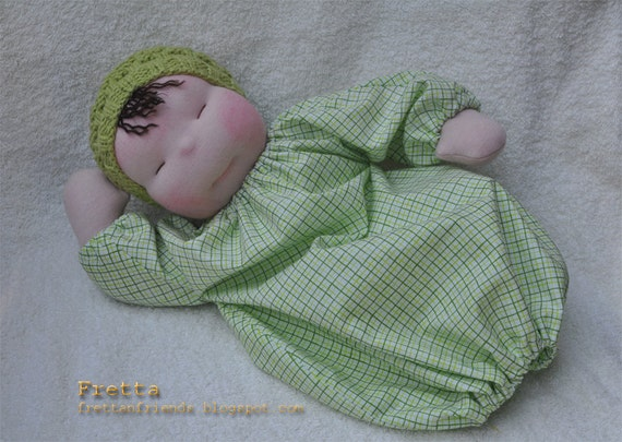 SALE. Waldorf Heavy Baby. Weighted Waldorf baby doll.