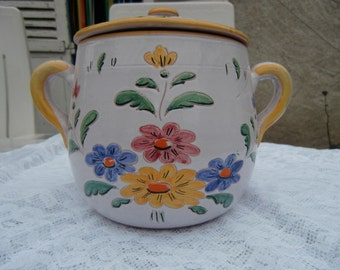 Pot handpainted