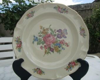 """Vintage French 1940 """"Trim antique porcelain factory Royal Limoges France"""
