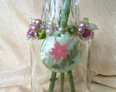 Accented Beaded Vase