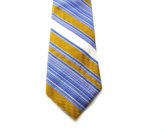 Mens Tie - Diagonal Stripes - Striped Mens Neckties - Men's Necktie - Men's Tie - Mens Tie - Mens Necktie Ties - Men's Gifts - Gifts for Men