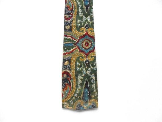 Square End Tie / Batik