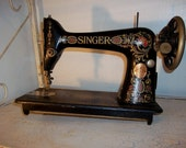 SOLD to Pam-Beautiful Antique Singer Sewing Machine Circa 1919 -Local New York City Pick Up Only