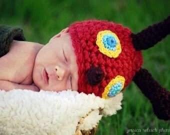 Little Caterpillar Cocoon Cap Hat, Newborn Photo Prop, Baby Shower Gift