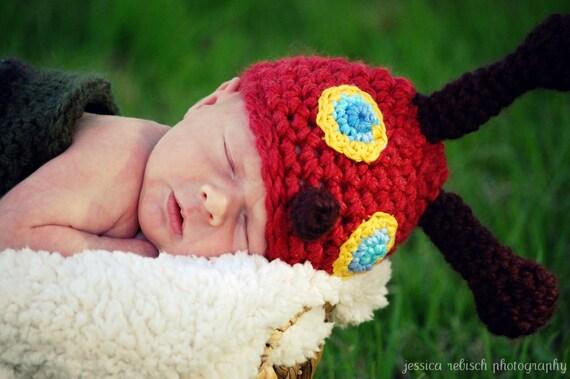 Happy Little Caterpillar, Newborn Infant Baby Photo Prop, Cocoon