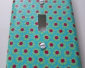 Decorative Switchplate Cover, Kitchen Decor, Spring Home Update, Cottage Chic