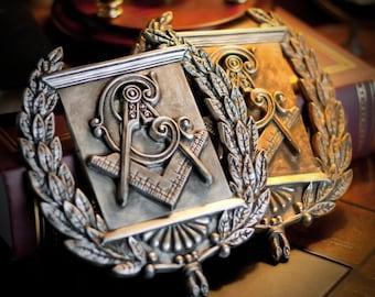 Masonic Heraldic Emblem Plaque