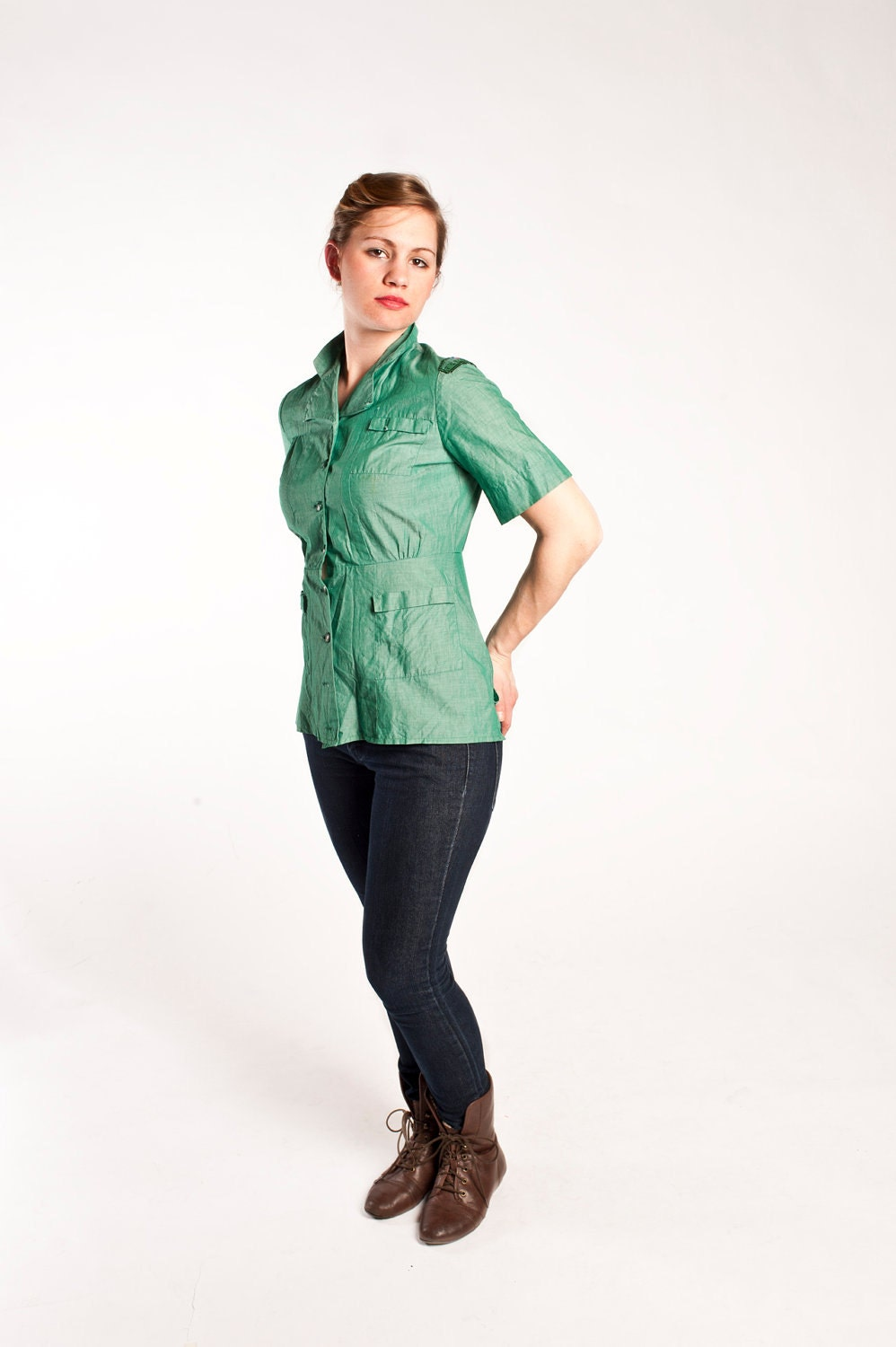 Girl Scout Blouse 93