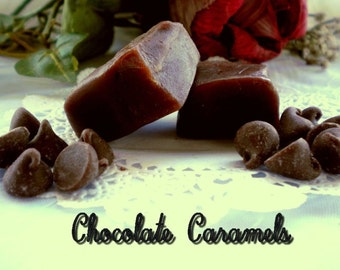 Heavenly Handmade Chocolate Caramels