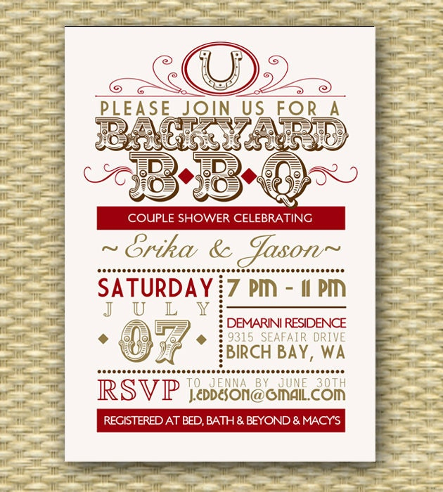 Western Birthday Party Invitations is adorable invitation sample