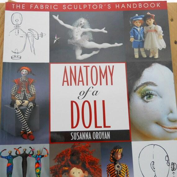 Dollmaking book: Anatomy of a Doll by Susanna Oroyan