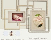 Vintage Frames  set 2 -  in png for Photographers