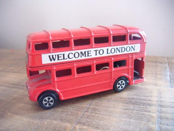 Vintage toy London Bus