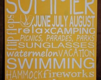 Summer Subway Art June, July, August