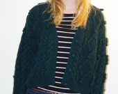 Woolrich Green Blend Wool sweater