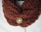 Loom Knitted Cowl Neck Warmer