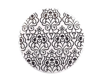 3 inch Pocket Mirror:  Ornamental Design