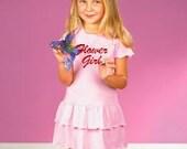 Flower Girl Toddler Ruffle Dress