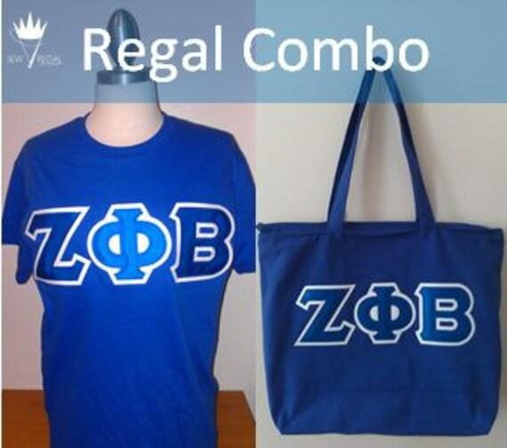 Regal Combo: Greek TShirt & Tote Bag
