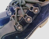Vtg Alpine Women's Size 9 Blue Suede Hiking Shoes