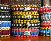 NCAA College Paracord Bracelets