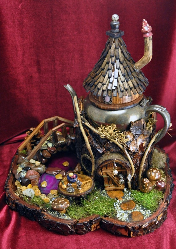 T Potters Fairy House