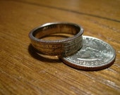 2011 Glacier National Park Custom Quarter Ring