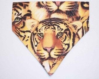 Pet Bandana Tiger Size Medium