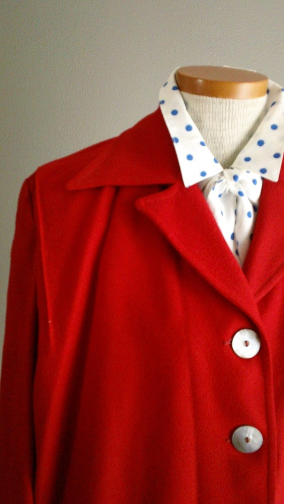 40s Red Wool FRISCO JAC 49er Jacket
