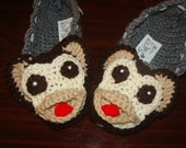 Adorable Monkey Slippers