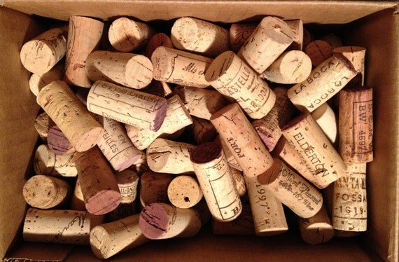 Wine Corks (100) no synthetic and no champagne
