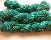 handdyed, handspun yarn, merino in wonderfull colors