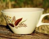 Vintage Wheat Design Teacup
