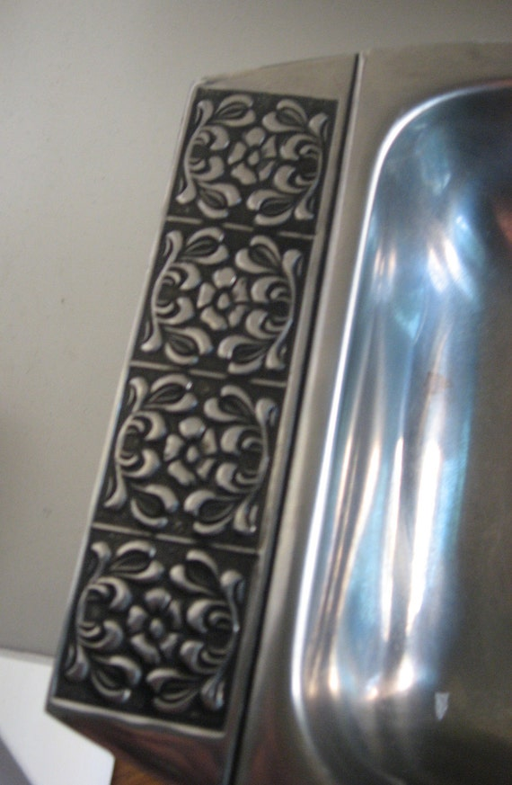 Vintage Stanley Roberts Stainless Tray Set