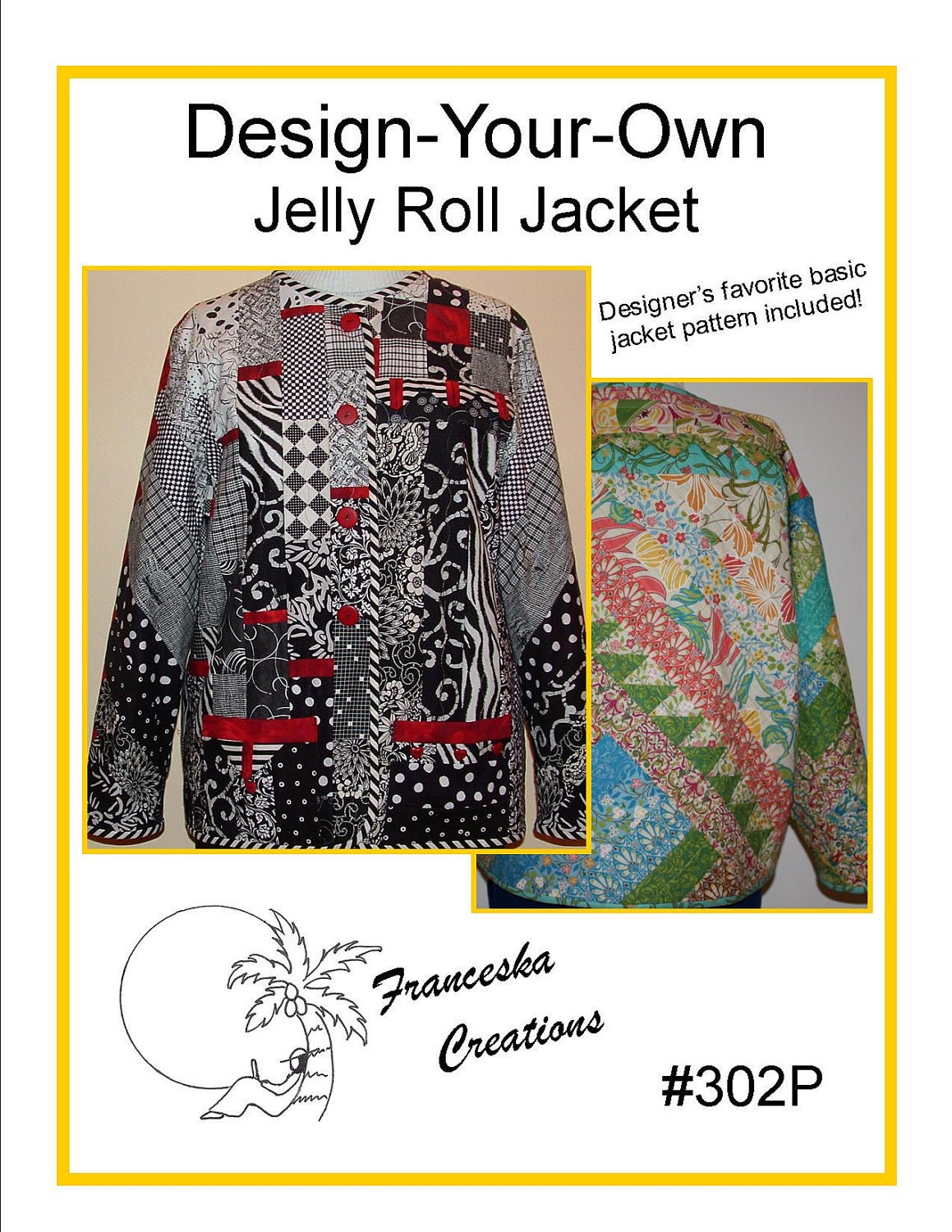 Design-Your-Own Jelly Roll Jacket Pattern