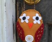 Fall Felt Owl