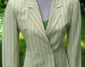 Vintage women's linen jacket Byblos