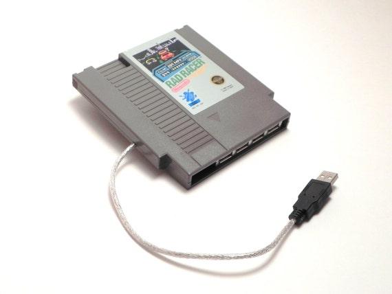 USB Hub Nintendo / NES Game Cartridge