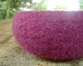 The Giving Bowl - Organic Wool Felted Bowl - Kundalini Medium - Made To Order - Charity