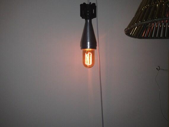 Bomb Lamp - Hanging Lamp Made From Vietnam Era Mortar Shell