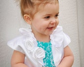 Bolero for Little Girls made of Satin