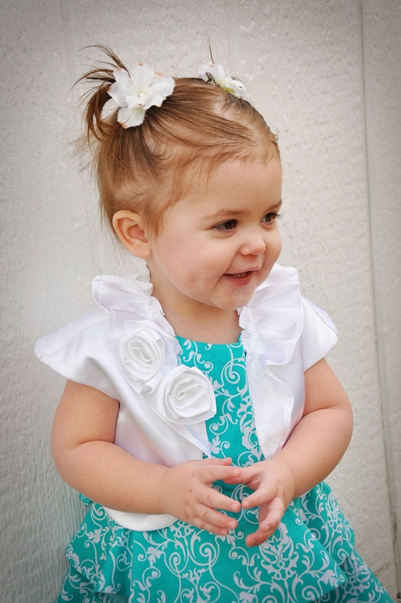 Bolero for Little Girls made of Satin