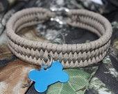 Tan Paracord Dog Collar