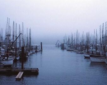 Photographs, Santa Barbara, California, Boats, Harbor, fine art print